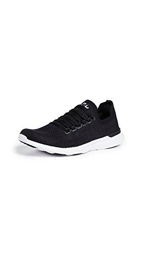 APL: Athletic Propulsion Labs Women's Techloom Breeze Sneakers, Black/Black/White, 7.5 Medium US