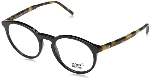 Montblanc Mont Blanc Brillengestelle Mb0554 Monturas de gafas, Multicolor (Mehrfarbig), 49.0 para Hombre
