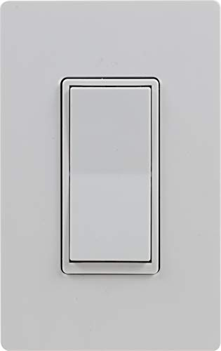 GE 12723 Enbrighten Add Z-Wave Zigbee Smart Lighting Controls, Works with Alexa, Google Assistant, SmartThings NOT A STANDALONE SWITCH, White & Light Almond