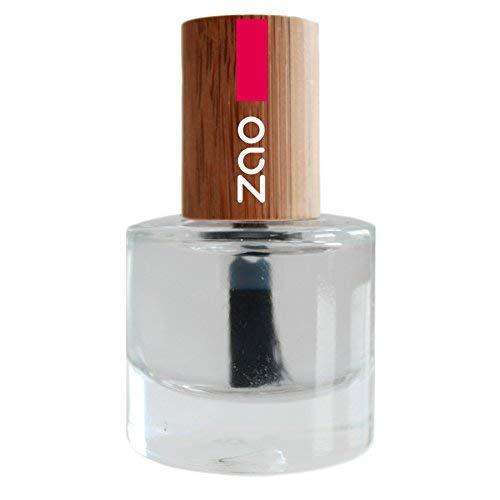 ZAO Nagelüberlack 636 'glossy' mit Bambus-Deckel Nagellack farblos (Naturkosmetik) Überlack