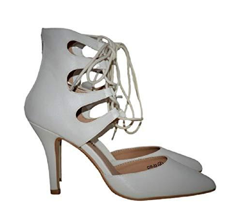Topshop - Scarpe da donna alla caviglia, colore: Bianco, Bianco (bianco), 37 EU