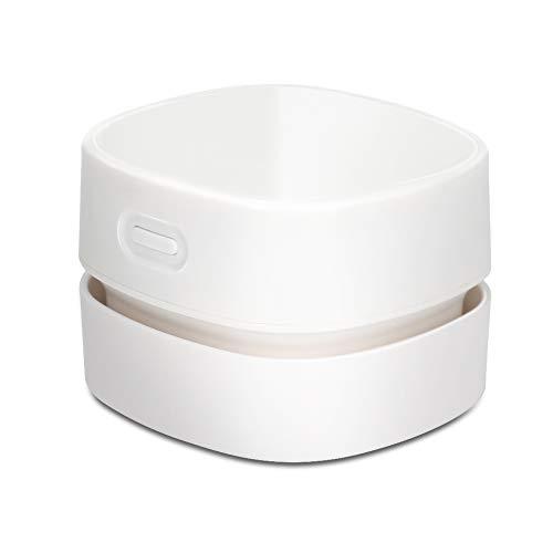 Preisvergleich Produktbild Maxjaa Mini-Sauger,  Tischstaubsauger Klein Handstaubsauger Desktop Vacuum Cleaner Mit Ladekabel Bürsten,  für Desktop,  Haushalt,  Büro und Auto