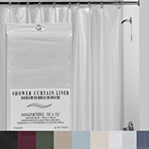Creative Bath Products 3-Gauge Shower Liner, Vanilla