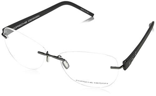 Porsche Design Brillengestelle P8209-DS1-55 Oval Brillengestelle 55, Schwarz