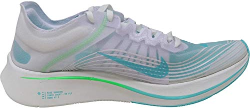 Nike Zoom Fly SP Hombre Running Trainers AJ9282 Sneakers Zapatos (UK 9 US 10 EU 44, White Rage Green 103)