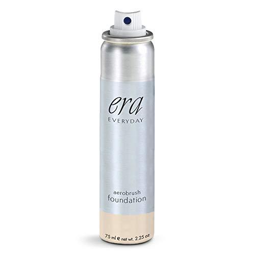 ERA Everyday Aerobrush Foundation Makeup, R2 Pale Ivory, 2.25 Ounce