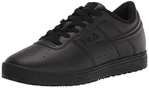 Fila womens Work Health Care Professional Shoe, Blk/Blk/Blk, 9.5 US
