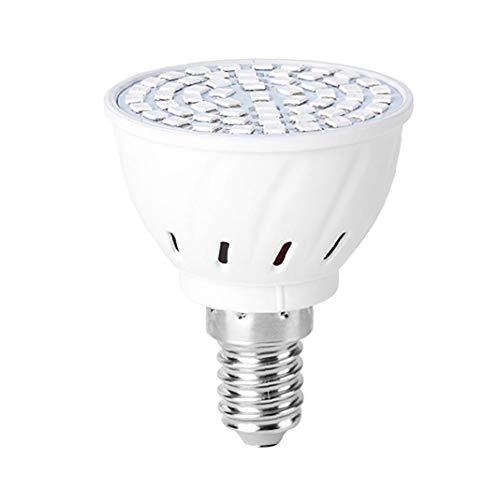 Crecer Bombilla, 48 LED E14 Crecimiento de Las Plantas Espectro Completo de Plantas Hortícolas lámpara de Interior para el jardín Plantas Suculentas