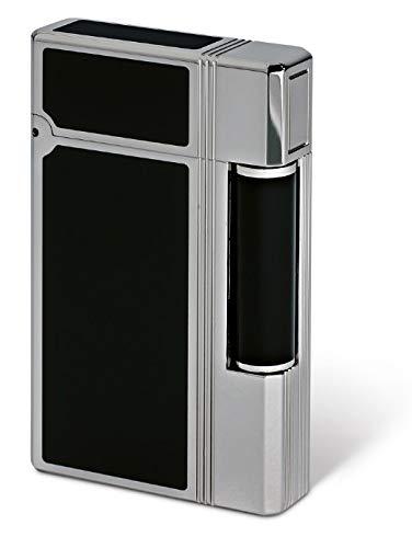 Davidoff – Feuerzeug Serie Prestige – Lack schwarz aus China – von St Dupont – hergestellt in Frankreich