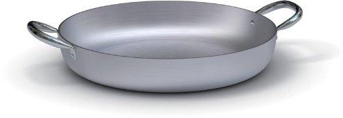 Ballarini Professionale 7008.32 Tegame con 2 Manici, Alluminio, Grigio, 32 cm