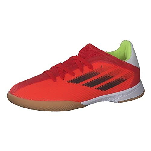 adidas X SPEEDFLOW.3 IN J, Zapatillas Deportivas, Rojo/NEGBÁS/Rojsol, 37 1/3 EU