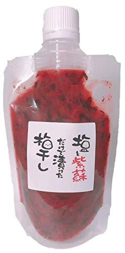【無添加梅干し/紀州南高梅】塩と紫蘇だけで漬けた梅干しチューブ 140g by 梅ボーイズ