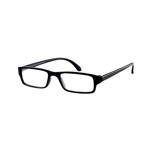 Leesbril Action, 3.50, mat zwart