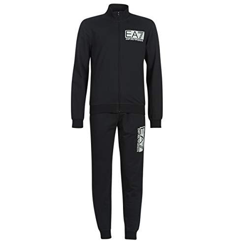 Emporio Armani EA7 Train Visibility T-Suit Jogging & Sportbekleidung Herren Schwarz - XL - Jogginganzüge