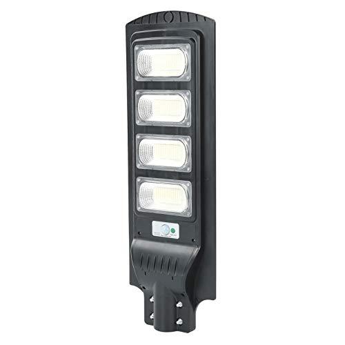Omabeta Lámpara de inducción LED Lámpara de detección Solar Alta dureza 200W Lámpara de Calle Solar LED Luz de Calle Exterior Sensor de Movimiento de inducción de Radar para Campus Granjas
