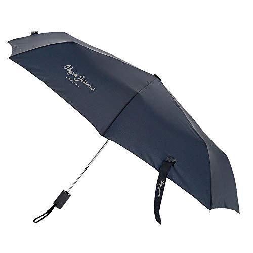 Paraguas Pepe Jeans Dorset Doble Automático Azul Marino
