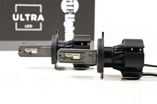 GTR Lighting LED Bulb, H4 / 9003 Ultra 2, Universal Upgrade for Forward Lighting & Fog Lights, Top Quality and Brightest Pure White...