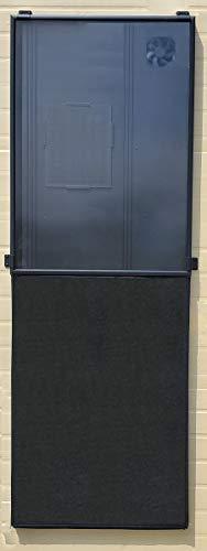 Nakoair solar fieltro cubierta calentador colector F7 para OS20/22 Acondicionamiento extractor ventilador ventilador secador calefacción panel deshumidificador bomba de calor fresca ventilación