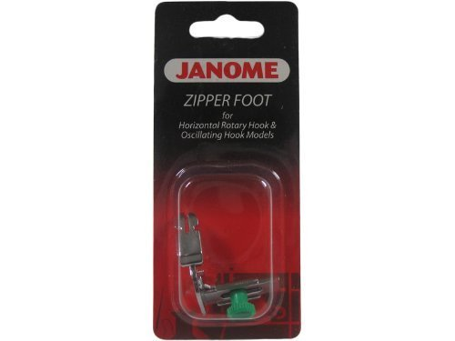 zipper foot janome - 2