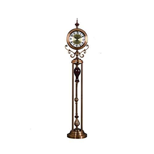 Relojes de escritorio del reloj de cabecera Reloj de abuelo / sala de estar, hotel, dormitorio / movimiento tranquilo / de lujo de mesa / tipo de soporte Reloj de péndulo grande, sencillo Reloj para o