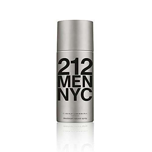 Carolina Herrera 212 Homme / men, Deodorant, Vaporisateur / Spray 150 ml, 1er Pack (1 x 150 ml)