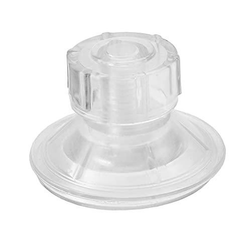 Yusheng Ventosa giratoria de 4,5 cm, mango de regla, ventosas giratorias con tornillo de rosca, ventosas versátiles para regla, 10 unidades