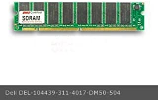 DMS Compatible/Replacement for Dell 311-4017 Dimension XPS D333 64MB DMS Certified Memory 8X64-10 4 Clock SDRAM168 Pin DIMM (32 Chip) V