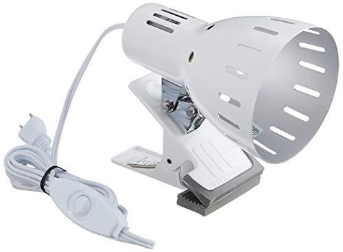 『ヤザワ クリップライトE26 ホワイト CLX605WH』の1枚目の画像