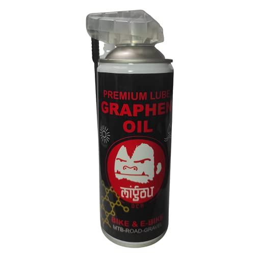 MIGOU BCN Lubricante Aceite PREMIUM con GRAFENO en Spray para cadena de...
