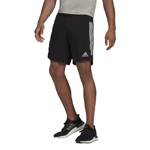 """adidas Own The Run SHO Shorts, Black, M 7"""" Mens"""