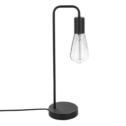 Paris Prix Atmosphera Créateur d'intérieur - Lampe à Poser en Métal Essential Mood 46cm Noir