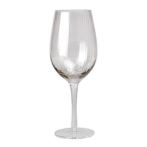 ChengBeautiful Vaso De Whisky De Cristal Rystal Whisky Copas de Vino Vidrio cristalino de la Copa de Vino de Champagne Goblet Creativo Vino Gris (Color : B, Size : One Size)