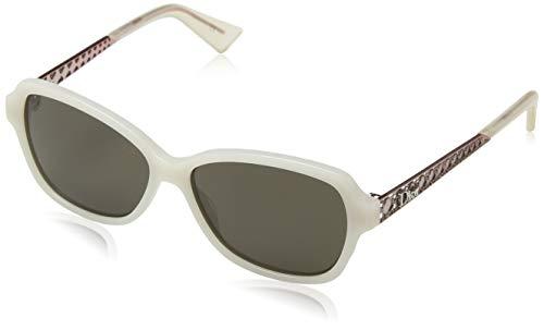 Dior Women's Diorama5N 70 Sunglasses, Ivory Peach, 56