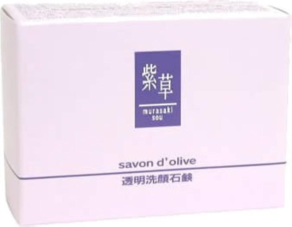 ペン隙間クック紫草 サボンドリーブ(洗顔)