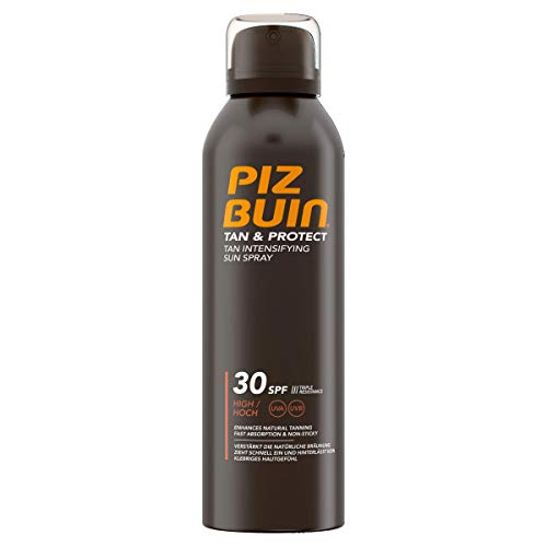 PIZ BUIN Tan & Protect Tan Intensifying Sun Spray, Bräunungsintensivierendes Sonnenspray, LSF 30, 1 x 150 ml