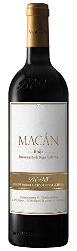MACÁN Botella Vino Rojo Intenso, Cosecha 2016-750 ml