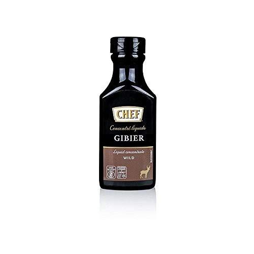 CHEF Premium Konzentrat - Wildfond, flüssig, für ca.6 Liter, 200 ml