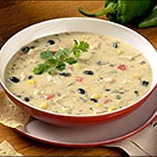 Blount Fine Foods Creamy Chicken Poblano Soup - 4 lb. package, 4 per case