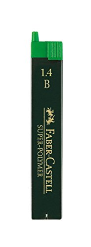 Faber Castell 152591 - Estuche con 6 minas de 1.4 mm