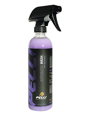 PELLI Premium Bike Care Waterless Wash | Daily Bike Cleaning & Detailing Spray - Streak and Scratch...