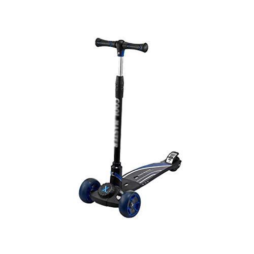 BIAOYU Scooter de truco para patinetas intermedias y principiantes, duradero, suave, estilo libre, scooter para niños y niñas