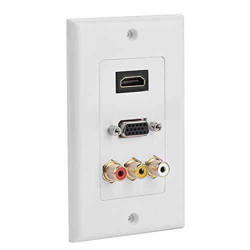 Steckdose, Multimedia-Steckdose, mehrstufiges Schutz-ABS für das Home Office Hotel