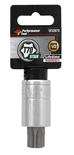 """Performance Tool W32870 Star Bit Socket, 1/2"""" Drive"""