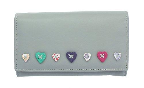 Mala Leder LUCY-collectie, portemonnee, portemonnee, dames, leer, met overslag 3186_30