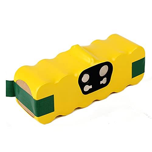 Dosctt 14.4V 4500mAh Ni-MH Aspiradoras de Repuesto Batería para iRobot Roomba 500 600 700 800 Series 530 531 532 535 536 540 550 552 560 570 580 595 620 650 660 760 770 780 790 870 980