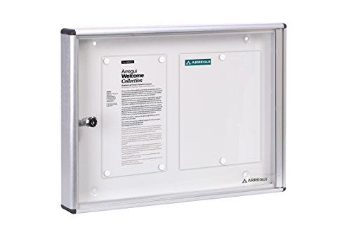 Arregui PAN42 Schaukasten für Aushänge, Aluminium, 35 x 48 cm
