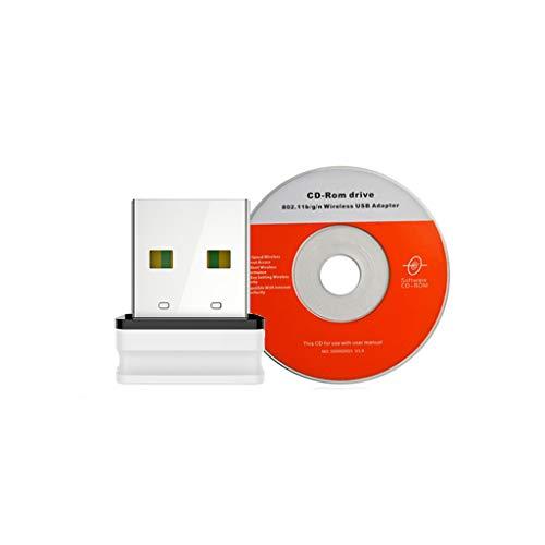 Adaptador de tarjeta WLAN Comfast CF-WU810N USB WiFi de 2 dBi, antena integrada de 150 Mbit/s, tarjeta LAN 802.11b/g/n, mini adaptador para ordenador de sobremesa de Ontracker