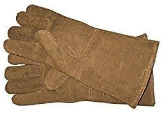 Blue Hawk Leather Welding Gloves Professional Heavy Duty High Temp Brand New