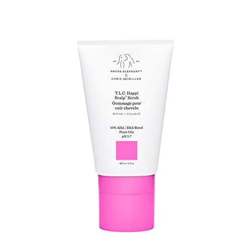 Drunk Elephant T.L.C. Happi Scalp Scrub. Exfoliating and Revitalizing Scrub for Hair and Scalp. (6 fluid ounces)