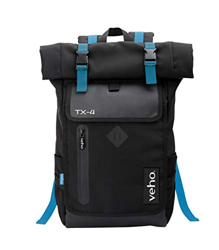Veho TX-4 Back pack rucksack notebook laptop bag with USB charging port - up to 17' notebooks - (VNB-004-TX4)